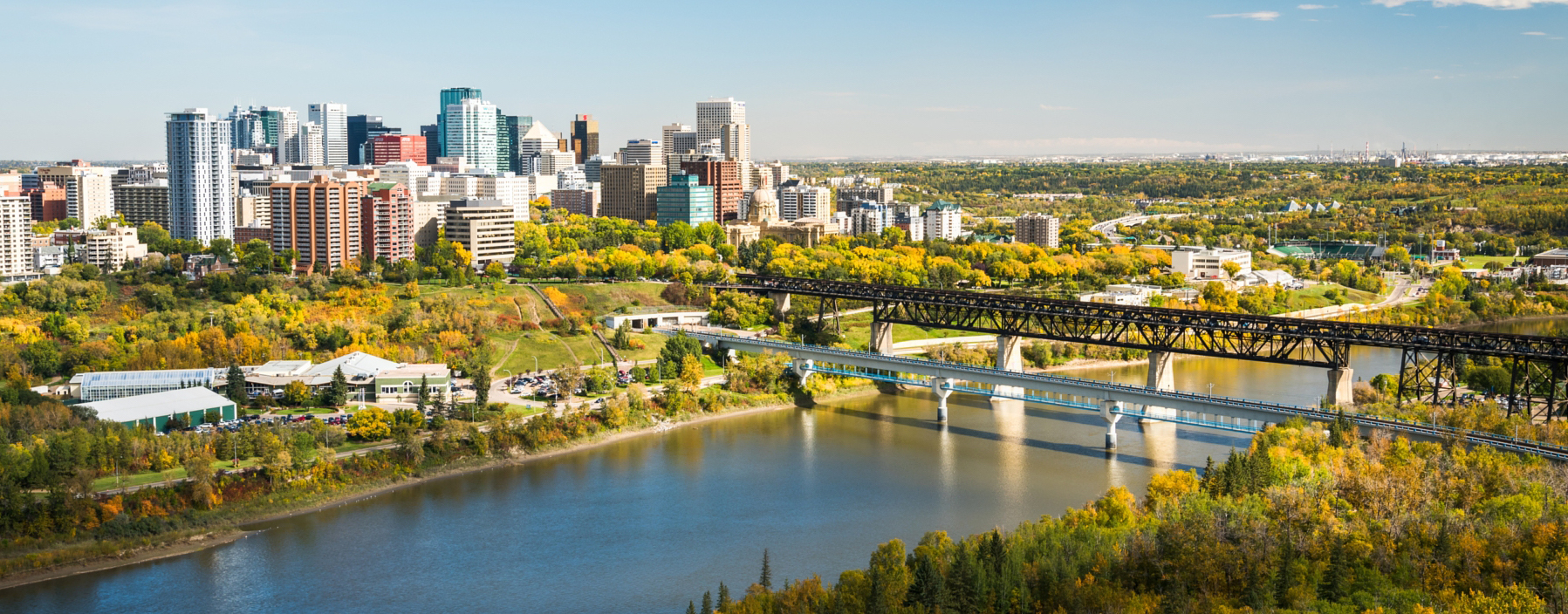 500px Photo ID: 172828367 - I have been wanting to get a birds eye view of Edmonton with the High-level Bridge, the Legislature Building and the Skyline towering over the River Valley. Particularly in Fall I envisioned this view to be super colorful. Well I was right, today I had the chance too shoot from the roof-top of one the UofA's buildings, opening a totally new perspective for me who does not possess a drone (yet). The leaves have begun to change to golden already and a week from now color should be peaking, so I will be back on top of that roof, for three more shots: Sunrise, Sunset and a Nightshot. Stay tuned.